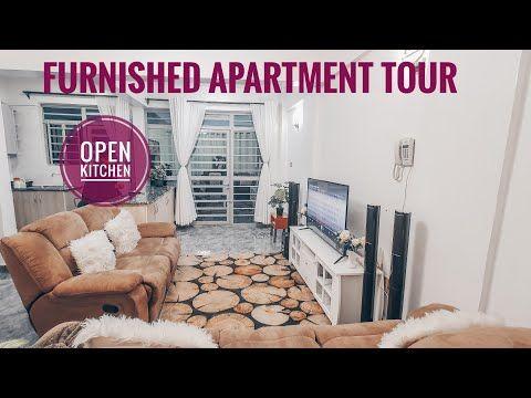 #apartmenttour #housetour #interiordecor FURNISHED APARTMENT TOUR IN NAIROBI WITH AN OPEN KITCHEN - YouTube