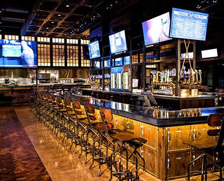 rustic industrial sports bar design google search brew
