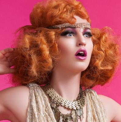 As seen in FACEON: makeup how-to Hair & Makeup: Sherri Jessee photo: © Jason Setiawan