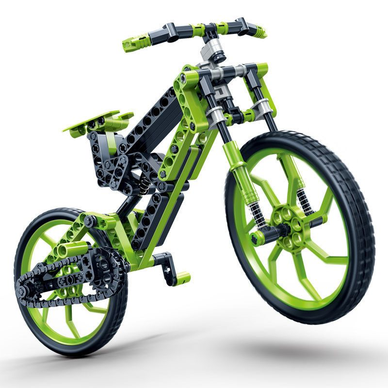 Model Building Kits Compatible With Lego City Mountain Bike 3d