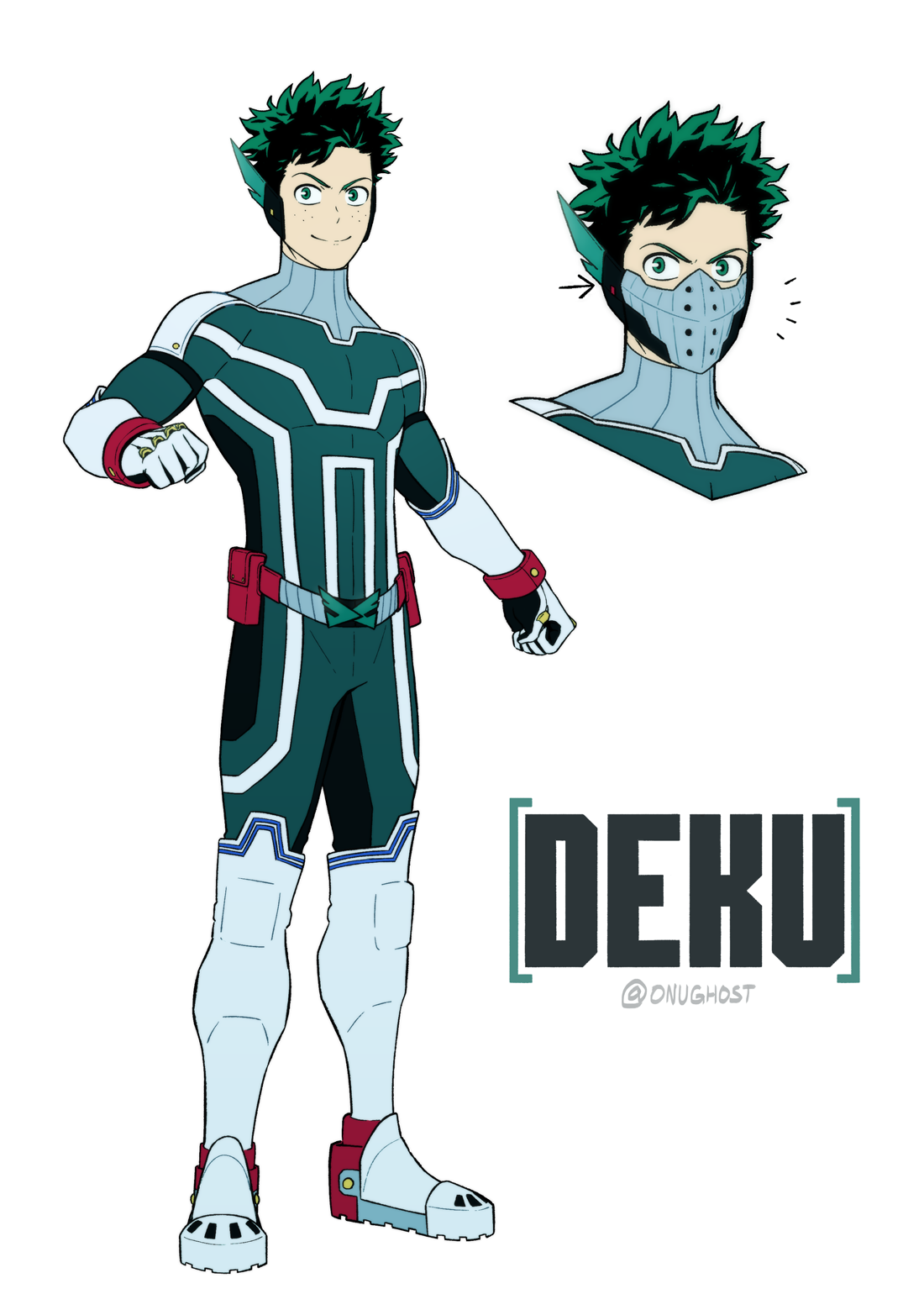 Pro Hero Deku Credit to onughost on Reddit My hero