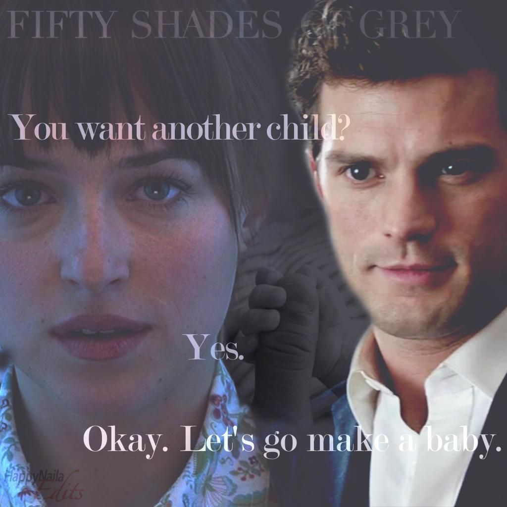 Nice Edit Of The Birthday One Shot Of E L James Christian Gray