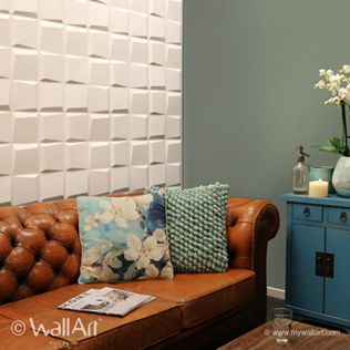 Decorative Wall Tile Panels Alluring 3D Decorative Wall Panels And Tiles  3D Wall Decor And Covering Decorating Design