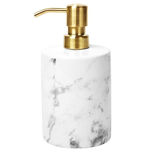Marble Effect Soap Pump Target Australia Bathroom Soap Dispenser Soap Pump Bathroom Shower Accessories