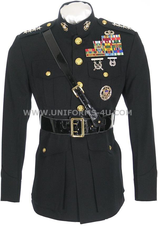 M Co Blue Dress Uniform