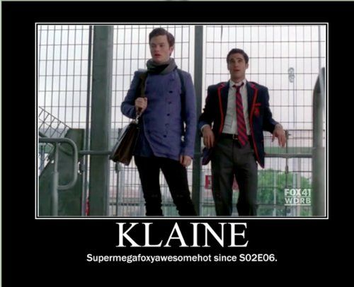 Omg Klaine   And a Starkid reference ? Talk about