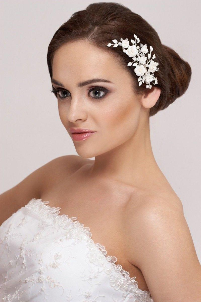Braut Haargesteck, Haarschmuck Blumen