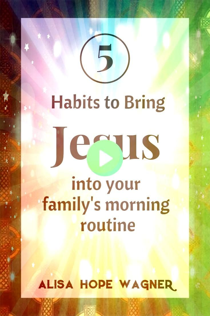 the craziness that life brings it is crucial to create a morning spiritual routine with your family to help prevent stress and start our day with Jesus This morning routi...