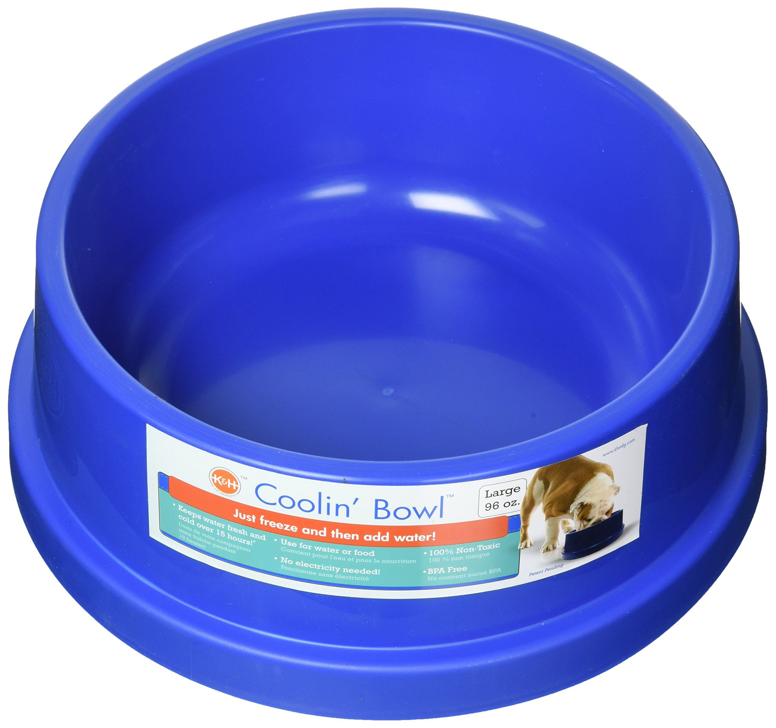 K H Pet Products Coolin Water Bowl For Dogs And Cats Dog Water