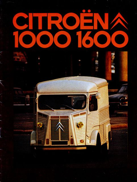 Citroën H-van brochure 1973