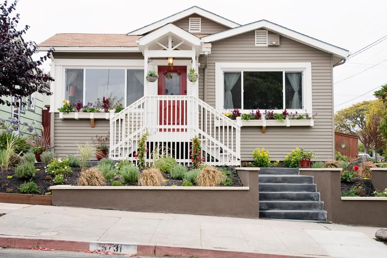 inspiring curb appeal transformations kerb appeal front