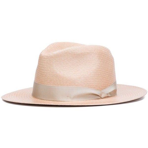Rag & Bone 'Panama' hat ($440) ❤ liked on Polyvore featuring accessories, hats, panama hats, beige hat and rag bone hat