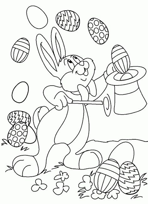 easter coloring pages for 10 year