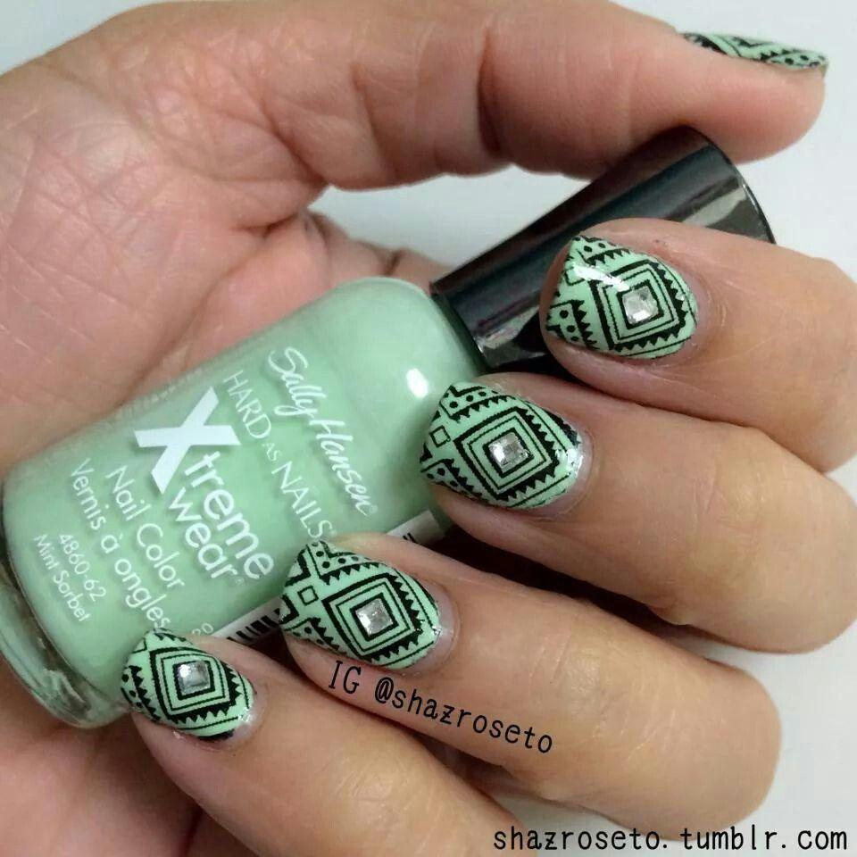Pin de Ariel Sea en uñas | Pinterest