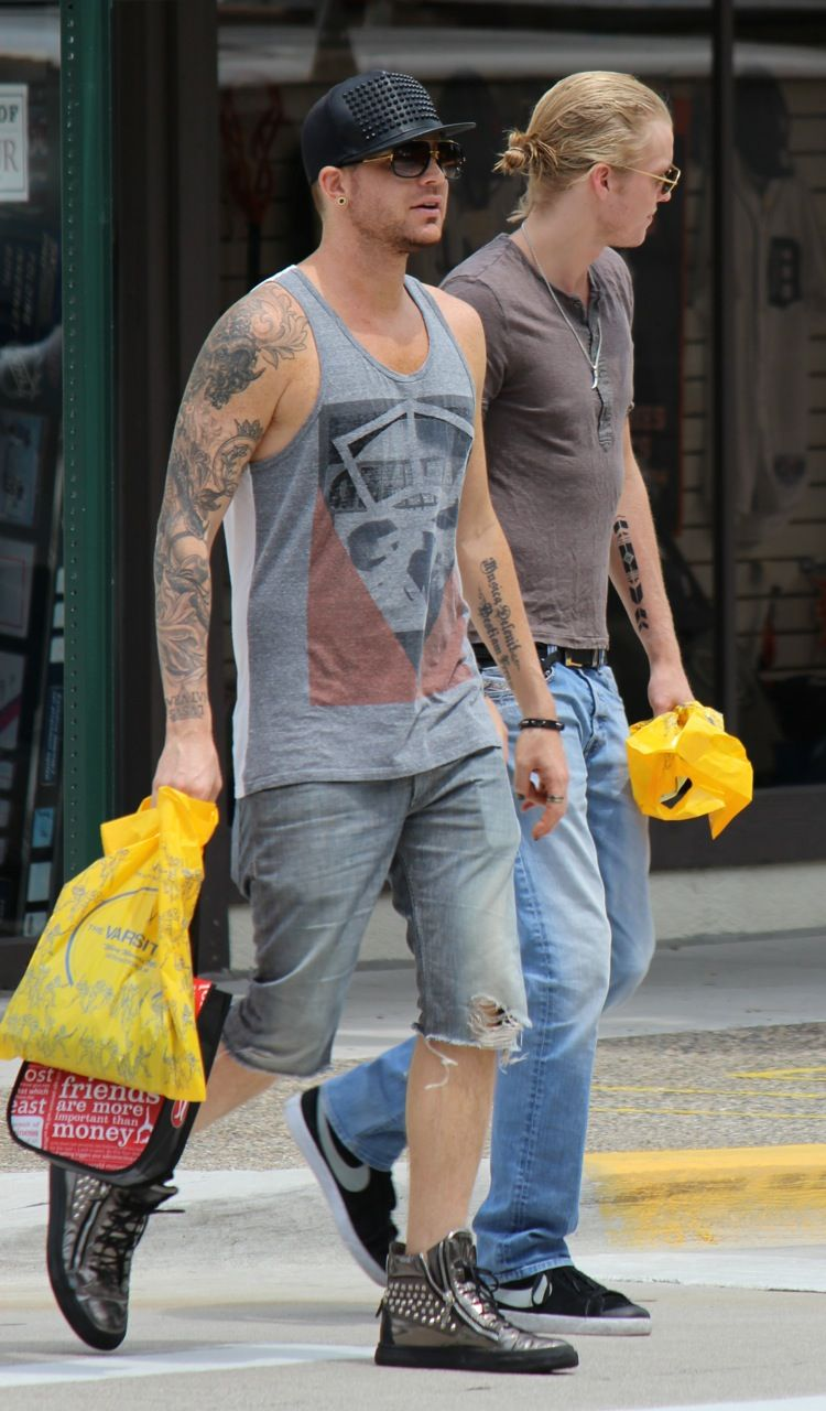 Shopping and walking around town with Rufus Taylor in Detroit July 2014