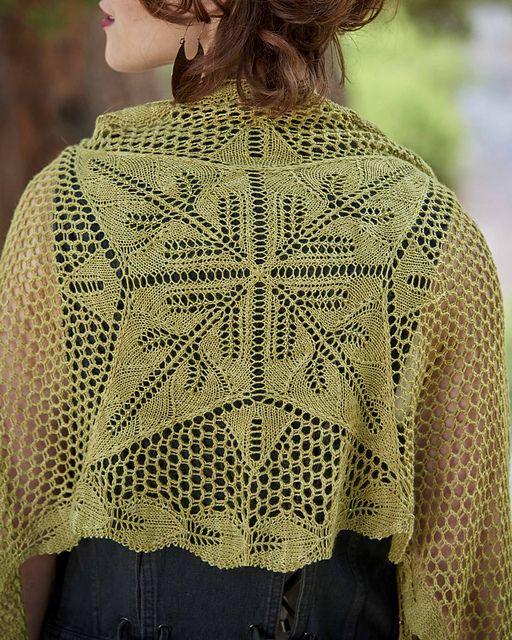 Ravelry Denali Shawl Pattern By Andrea Jurgrau Knitted Or Crochet