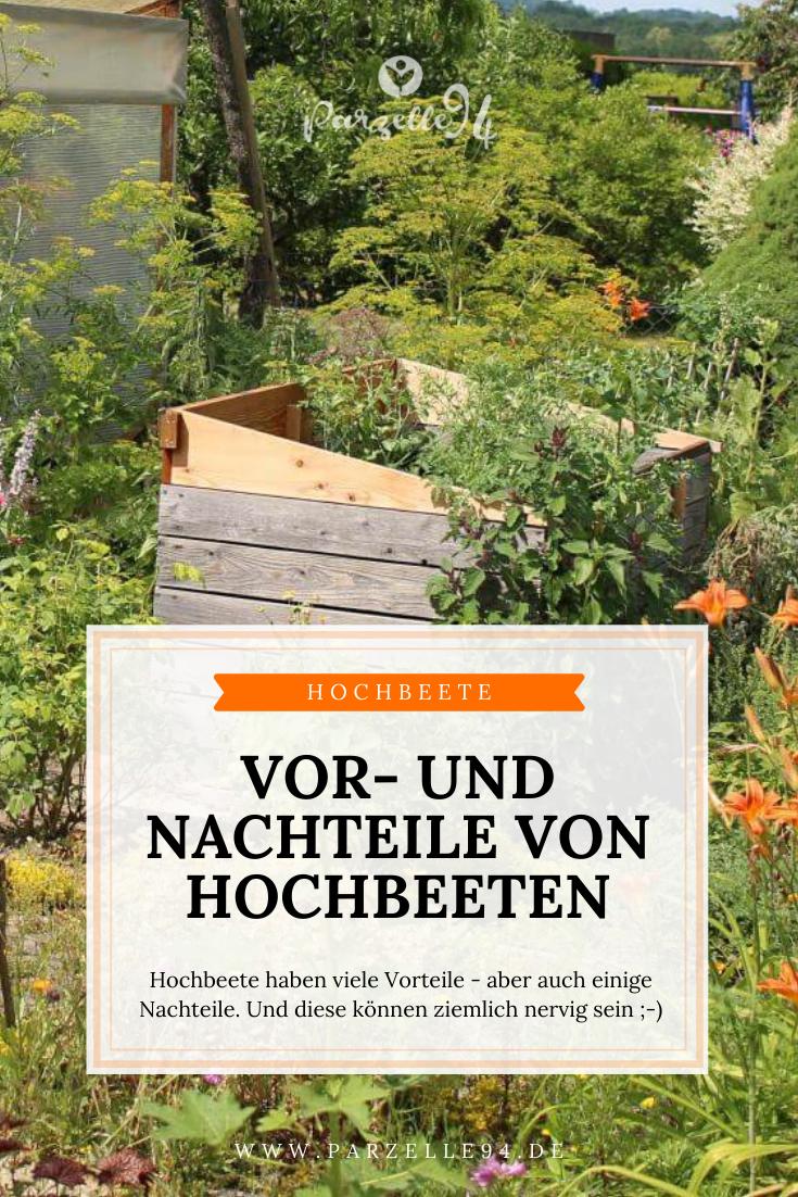 Vor Und Nachteile Von Hochbeeten Hochbeet Gartentipps Pflanzen