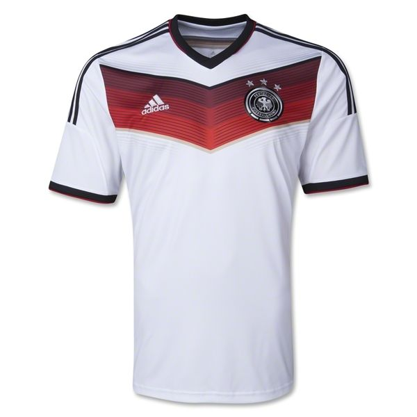 Germany 2014 Home Soccer Jersey World Cup Thomas Müller (13) Bastian  Schweinsteiger (7) Manuel Neuer (1) Mats Hummels (5) Toni Kroos (18) Sami  Khedira (6) ... f49ab002736f0