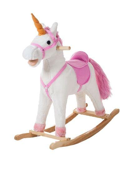 Trademark Happy Trails Bella The Rocking Unicorn, White and Pink, http://www.myhabit.com/redirect/ref=qd_sw_dp_pi_li?url=http%3A%2F%2Fwww.myhabit.com%2Fdp%2FB00H9G1LR4%3F