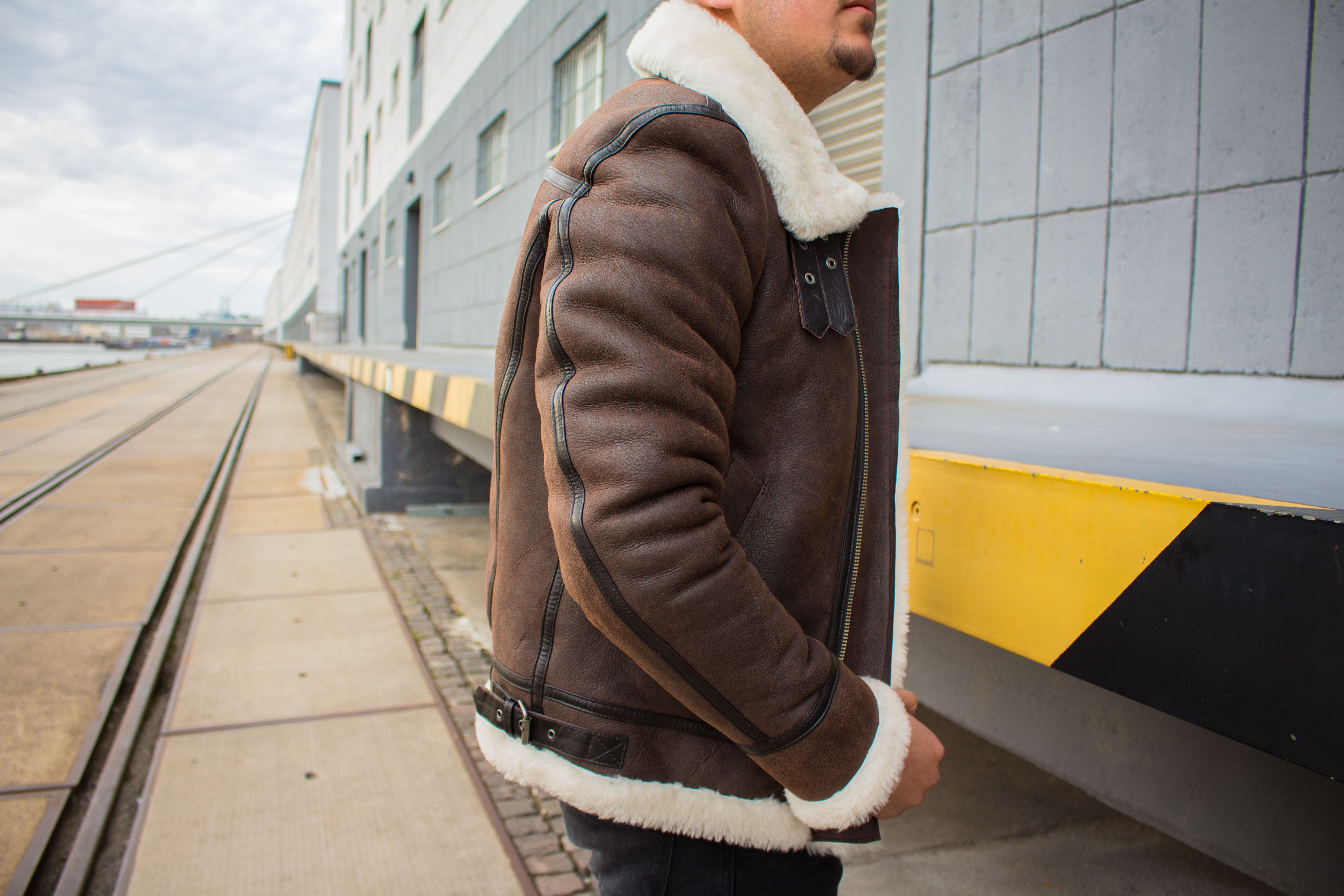 Lolus Vonrock Lammfelljacke Shearling Jacket
