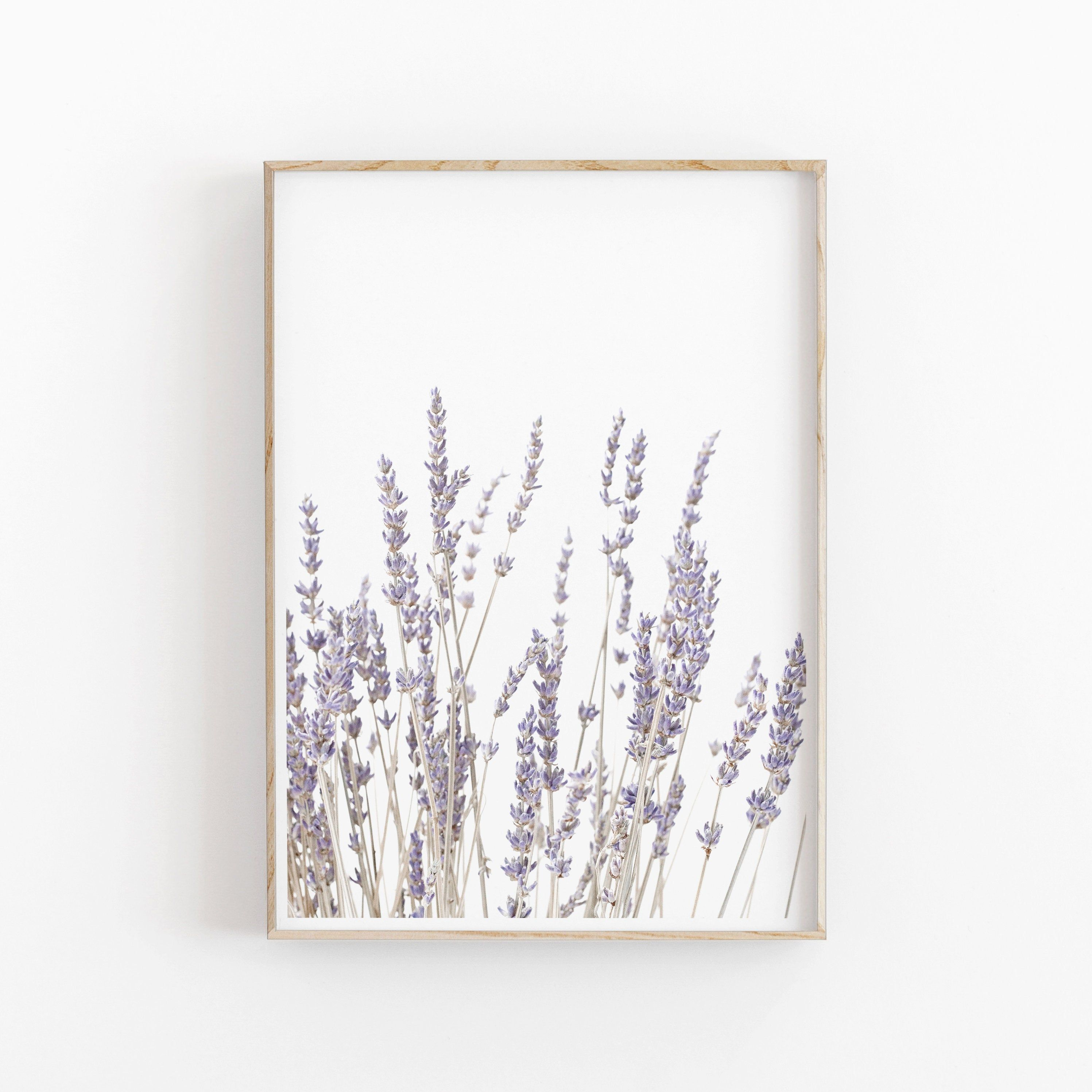 Lavender Print Instant Art Instant Download Modern Etsy In 2021 Instant Art Wall Decor Printables Etsy Printable Art
