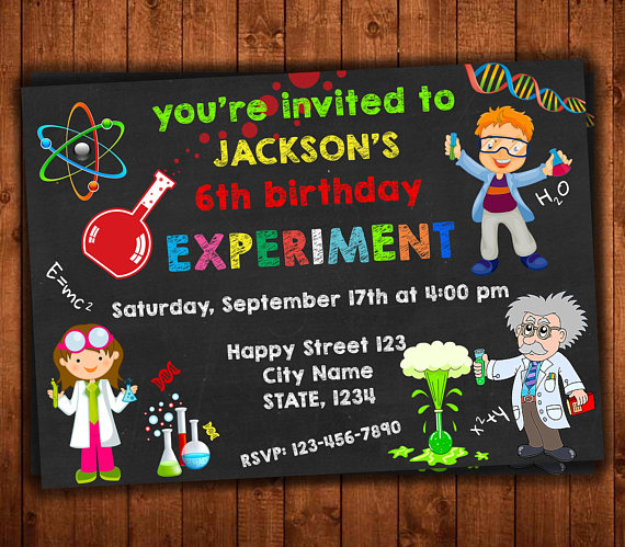Science birthday invitation science invitation science lab party science birthday invitation science invitation science lab filmwisefo