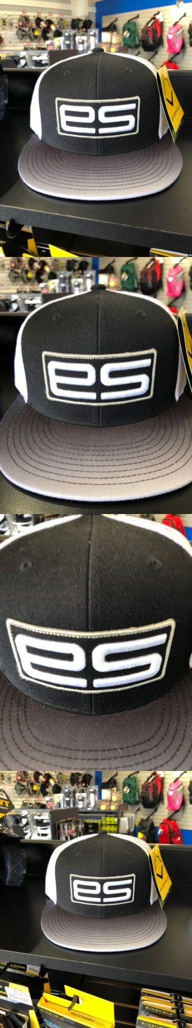 55c3c055a03 Hats and Headwear 159057  Evoshield Es Logo Flatbill Snapback Hat -  Evoshield Black One Size