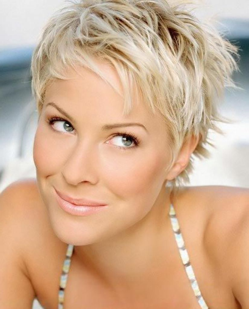 Coupe cheveux court femme on pinterest within coupe de - Coupe courte blonde ...