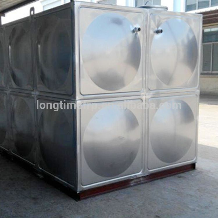 welding stainless steel water storage tank SS rectangular