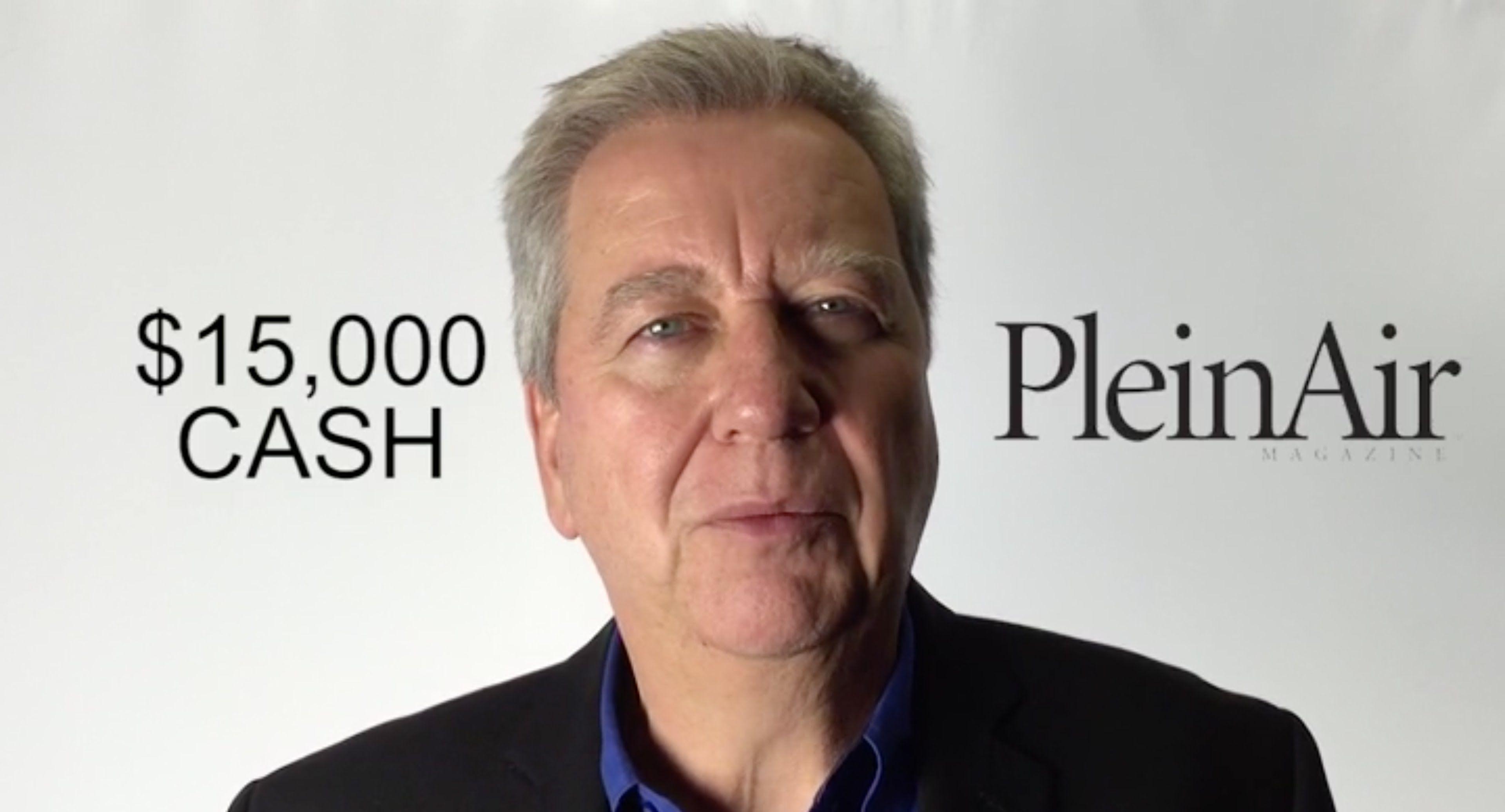 Plein Air Salon 15,000 CASH + the Cover of PleinAir