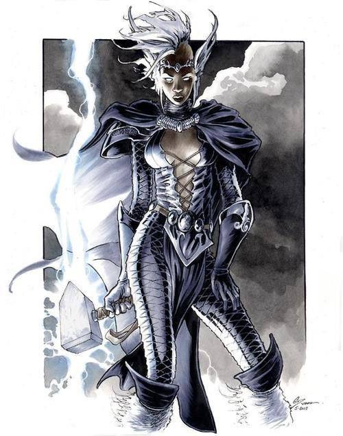 Lightning Storm meets Thor's Hammer |