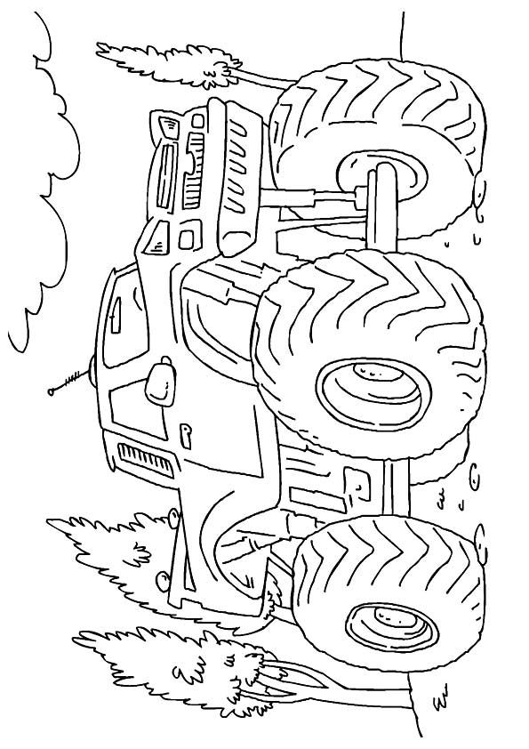 Print Coloring Image Momjunction Monster Truck Coloring Pages Truck Coloring Pages Coloring Pages