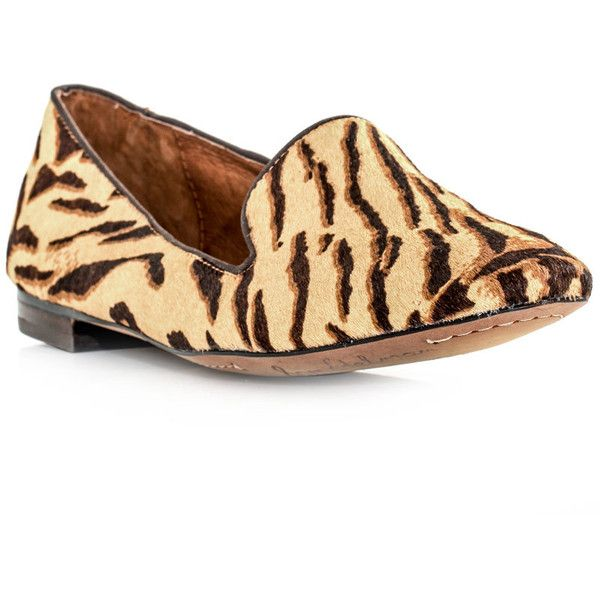 11e33e179a7 Sam Edelman Alvin tiger-print shoes ( 95) ❤ liked on Polyvore ...