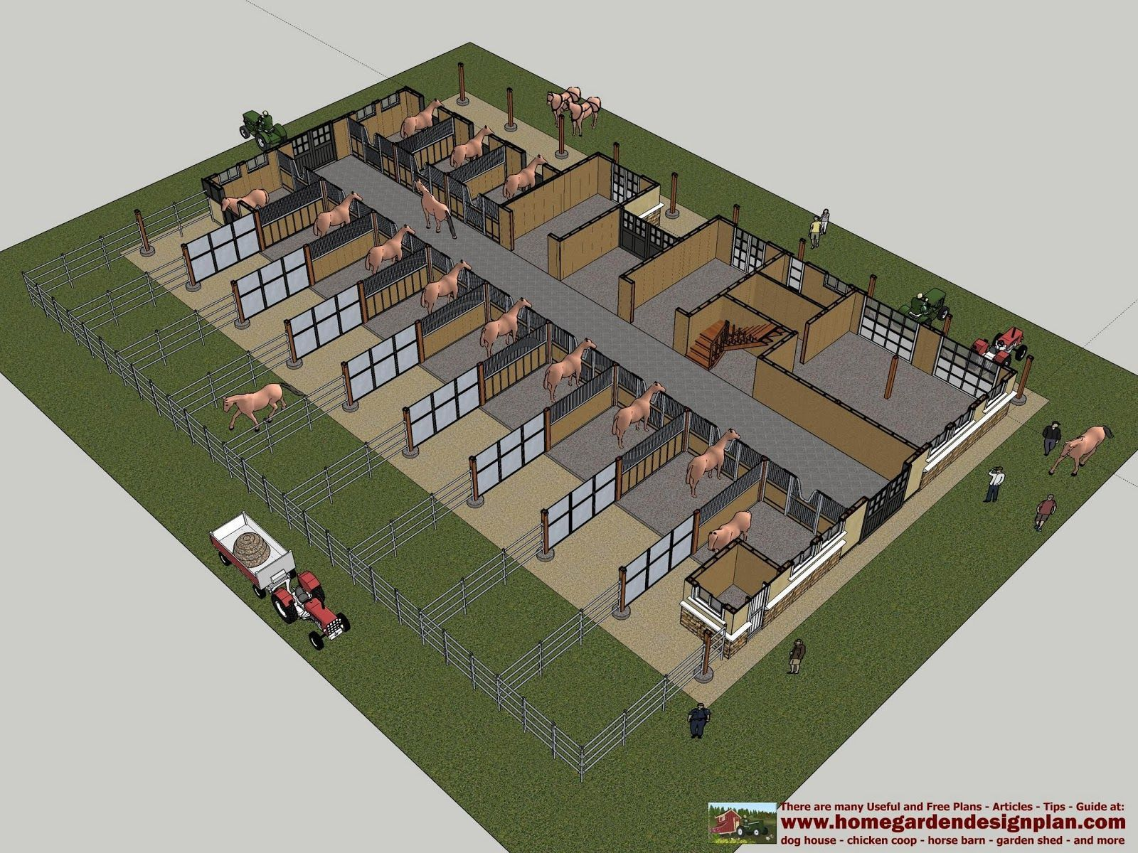 Horse Barn And Stable Designs Equine Stables Trilogy Barn Additional Rooms Included In This Stab Horse Barn Plans Horse Barn Designs Horse Barn Ideas Stables