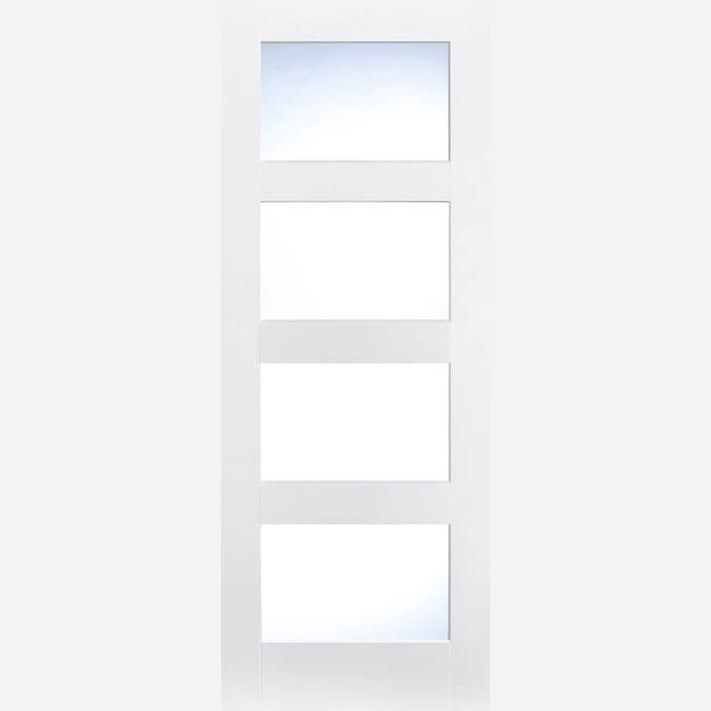 Best White Primed Shaker 4L Frosted Glass In 2020 Frosted 400 x 300