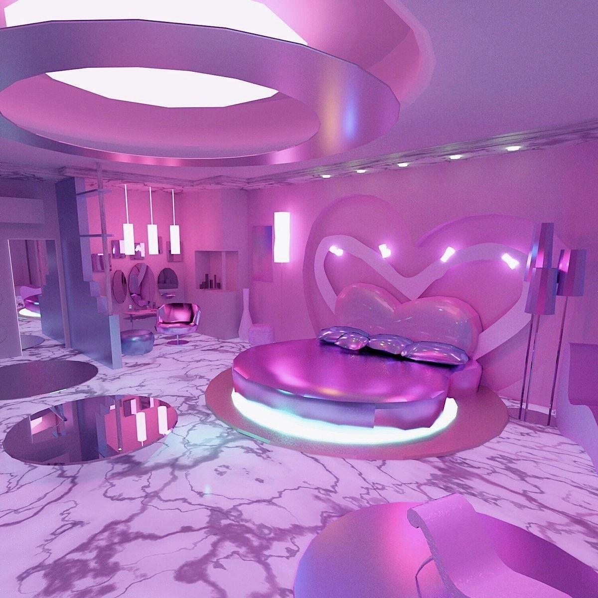 Vaporwave Room Tumblr Ow94orthz01vx9hc8o7 1280 Jpg 1200 1200 Neon Bedroom Girl Bedroom Designs Neon Room