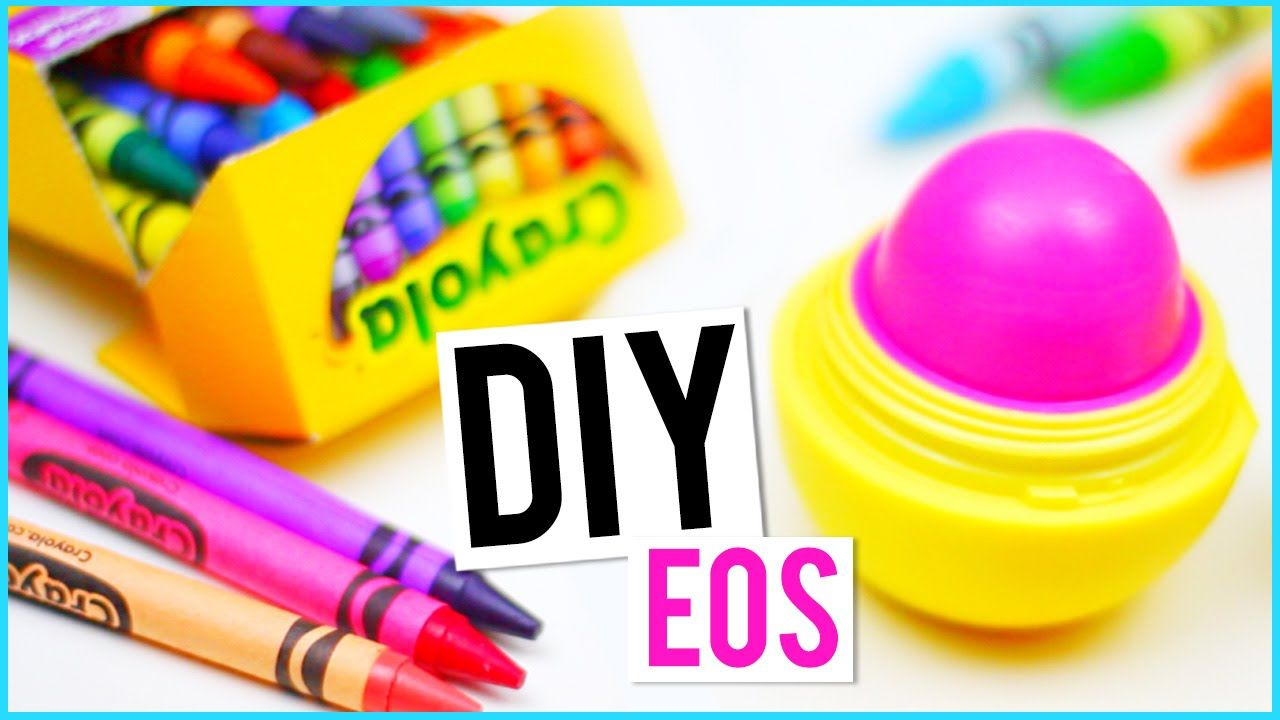 diy eos out of crayons diy pinterest eos crayons and craft