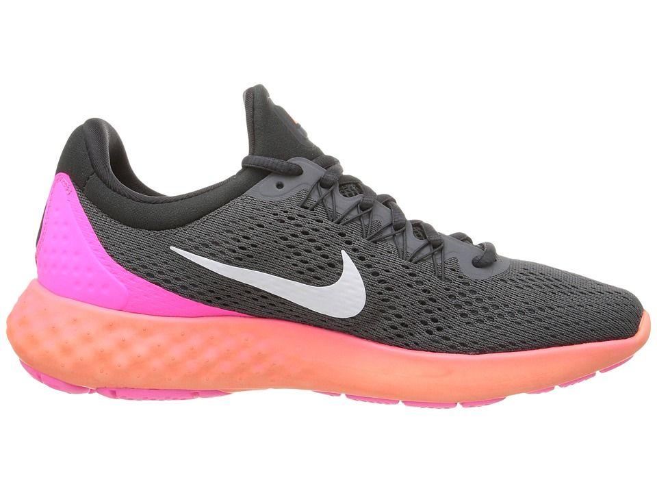 2c39a57cb46 Nike Lunar Skyelux Women s Shoes Dark Grey Anthracite Pink Blast White
