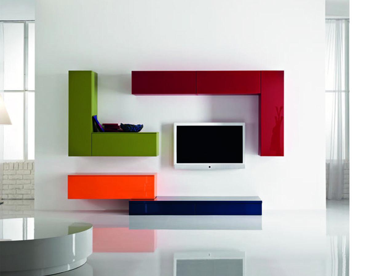 Spazio al #colore per i #soggiorni #ArredissimA | ArredissimA ...