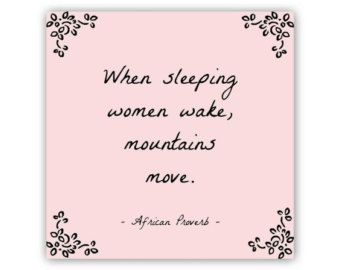 African Proverbs About Women Quote About Women Typography Print African Proverb African Proverb African Quotes Woman Quotes