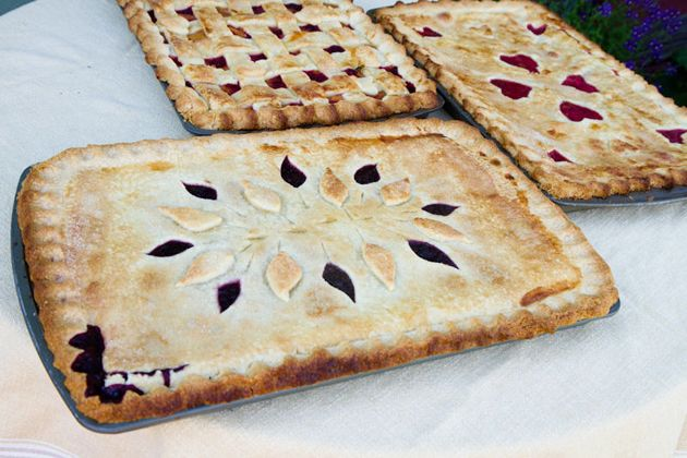 pies for a crowd
