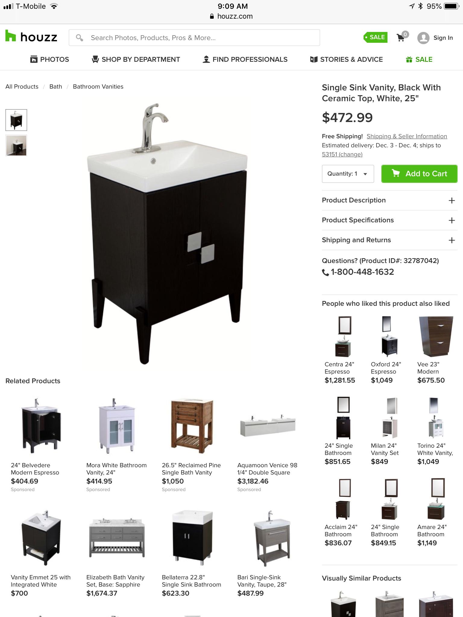 Pin By Holly Winters On Bathroom Single Sink Vanity For Sale Sign Bathroom Vanity
