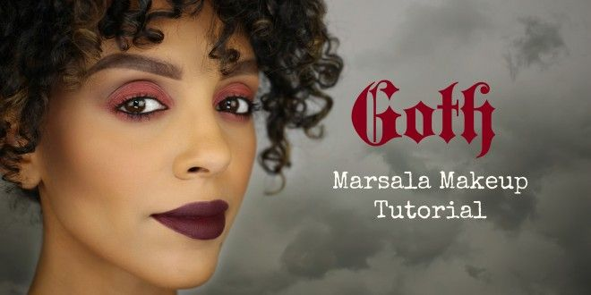 Goth Marsala Makeup Tutorial | Melting Pot Beauty