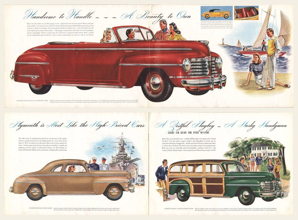 1941 Plymouth Prestige Dealer Brochure Hot Rods Cars Muscle Classic Cars Trucks Plymouth