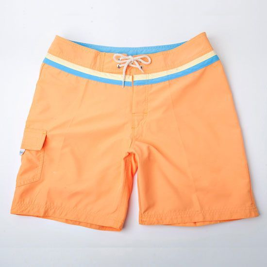 Bonfire Orange with Yellow & Light Blue with 18.5 outseam