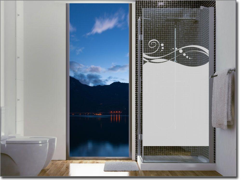 Blickschutzfolie für Glas Design Sichtschutzfolie für Badezimmer - folie für badezimmerfenster