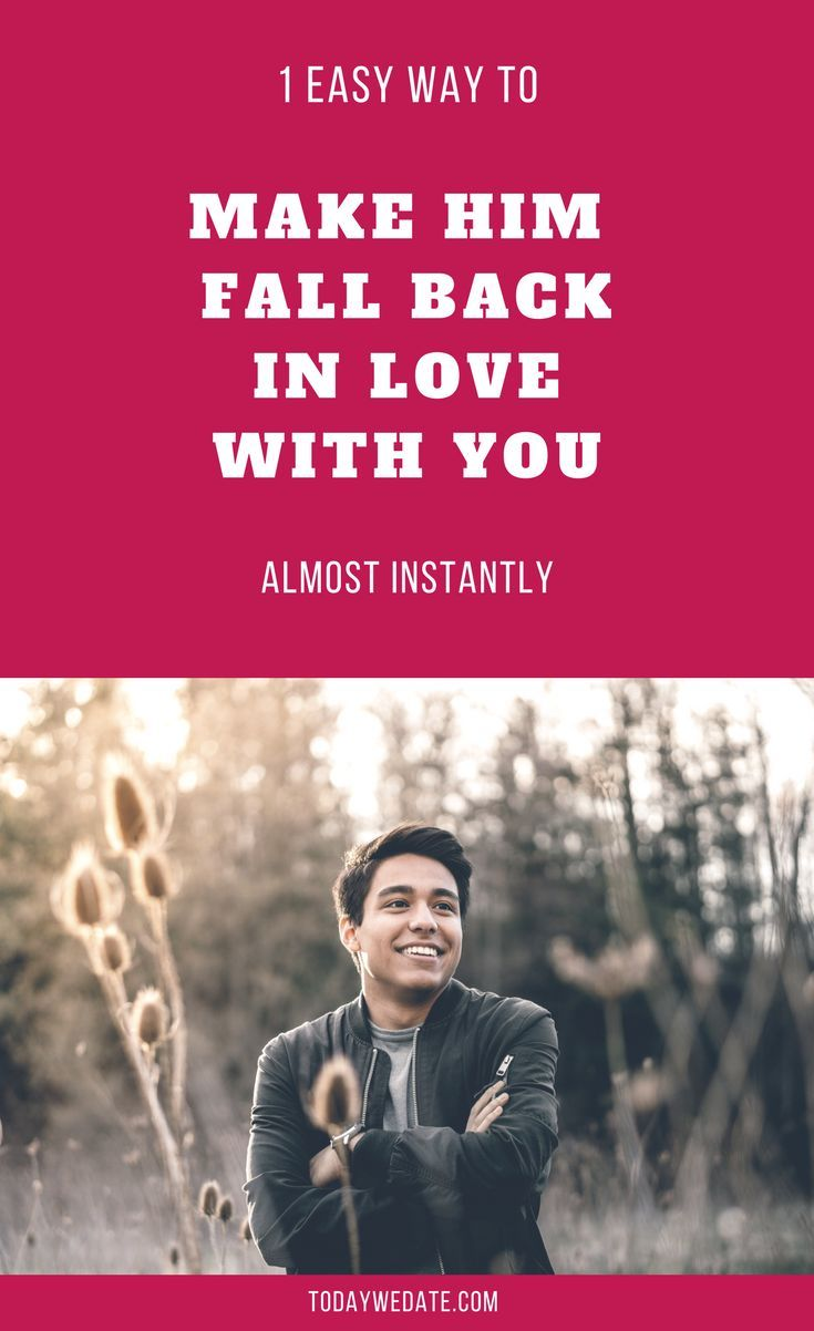 How to fall in love with a guy in 10 main ways