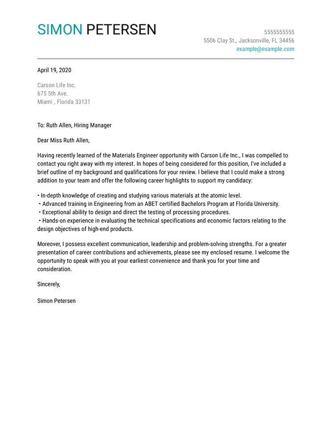 Pin On Resume Cover Letter Examples