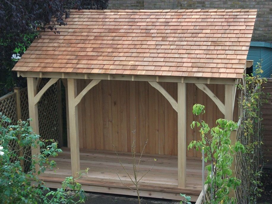 Best Western Red Cedar Shingles Sheds Gazebo Roof Cedar 400 x 300