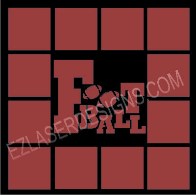 Ez Laser Designs Football Template This Overlay Is Wonderful